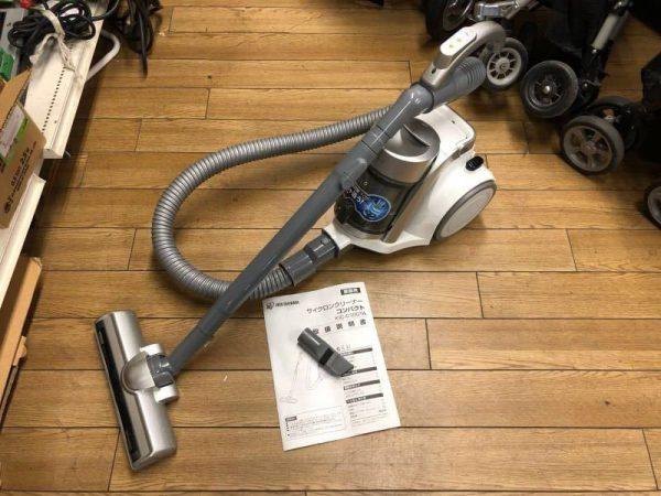 アイリスオーヤマ コンパクト サイクロンクリーナー 掃除機 KIC C100TA 600x450