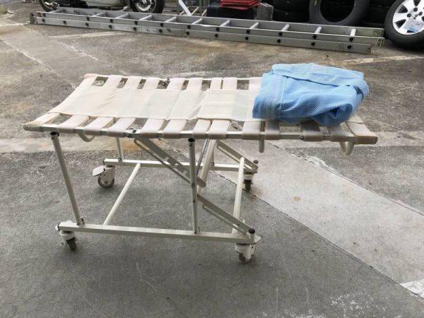 カワムラ 入浴キャリー 風呂 車椅子 シャワー リクライニング 600x450