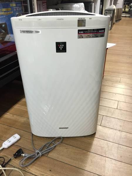 シャープ プラズマクラスター 加湿空気清浄機 KC Y80 W 09年 1 450x600