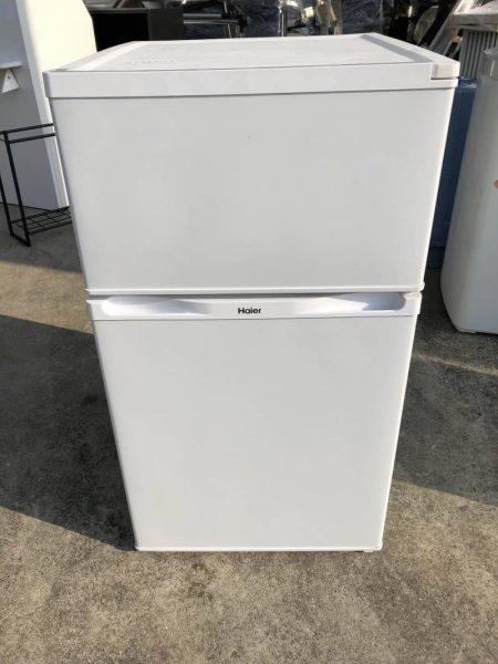ハイアール 2ドア冷凍冷蔵庫 91L JR N91J 2014年製 450x600