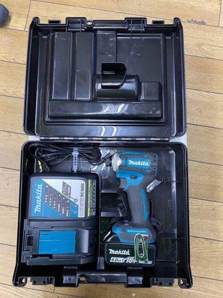 マキタ makita インパクトドライバ 充電式 TD171D 美品