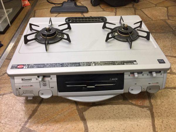 リンナイ ガスコンロ 都市ガス 美品 RTS 660GFTS L 2011年製 600x450