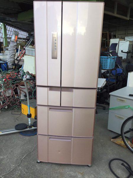三菱 冷蔵庫 501L MR E50P P2 09年製 6ドア 450x600