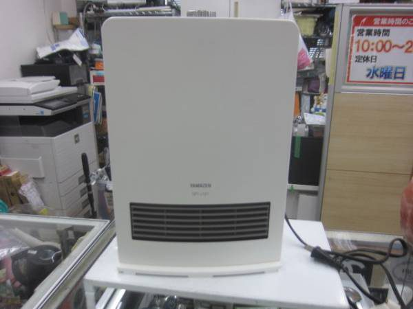 山善 セラミックファンヒーター DFY J121 11年製 1 600x450