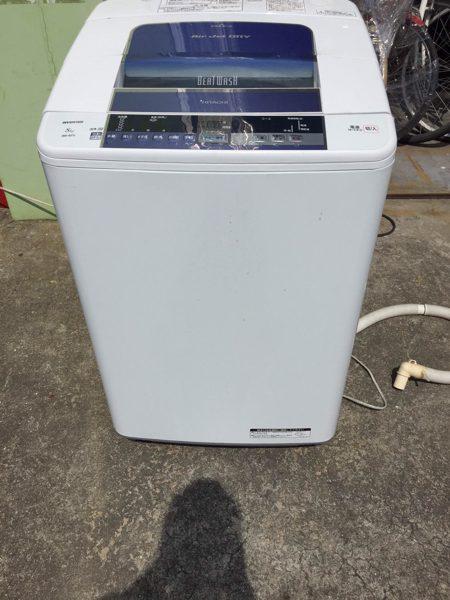 日立 全自動洗濯機 BW 8TV ビートウォッシュ 2014年製 450x600