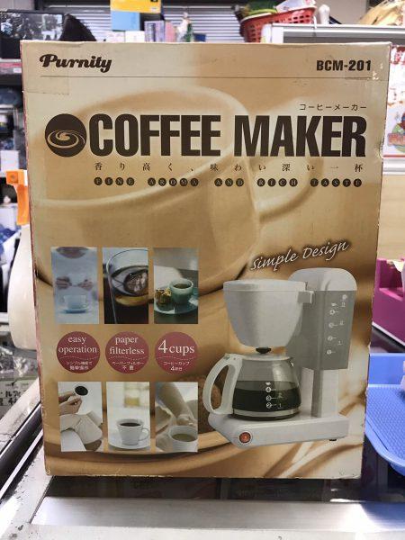 未使用 コーヒーメーカー BCM 201 purnity 450x600