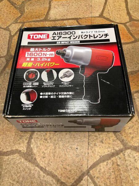 未使用 トネ TONE 19mm エアインパクトレンチ AI6300