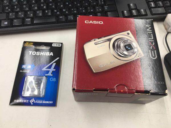 未使用CASIO EXILIM デジタルカメラ 黒 EX Z2300 600x450
