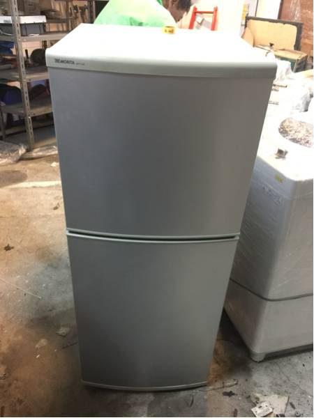 森田工業 MORITA 2ドアノンフロン冷凍冷蔵庫 MR F140C 10年製 140L 450x600