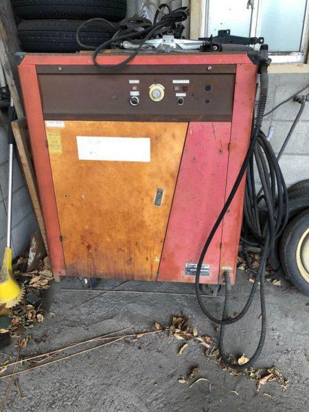 洲本整備機製作所 高圧洗浄機 200V 60Hz