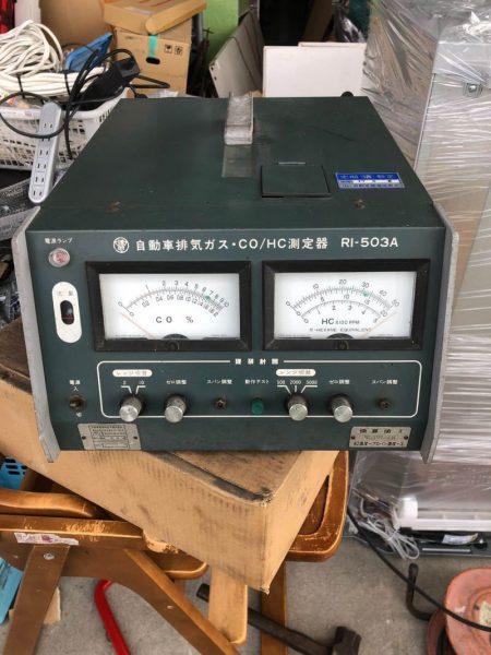 理研 CO HC測定器 RI-503A 自動車排気ガステスター 認証工具