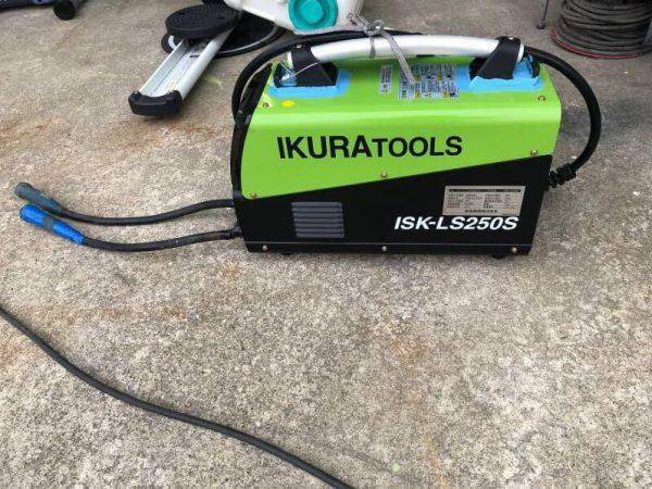 育良精機 インバーター制御直流アーク溶接機 ISK-LS250S 200V IKURATOOLS