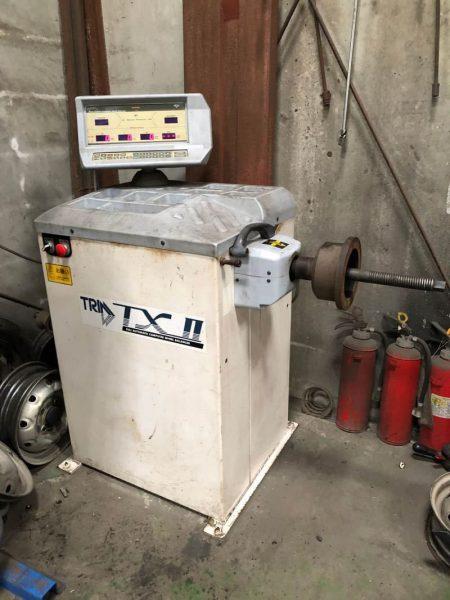 TOYOSEIKI ホイールバランサー TRIM TX-Ⅱ TX2 200V