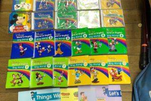ディズニー英語システム シングアロング Sing Along フルセット 幼児教育 最新版