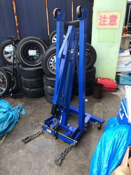 ブルーポイント Blue-point エンジンクレーン SNX15FEC