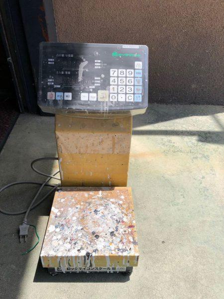 ロックペイント 塗料計量器 マイコンスケール3 HSR2-6000