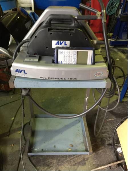 AVL Dismoke 4800 DIX-001 オパシメーター 校正適合済み