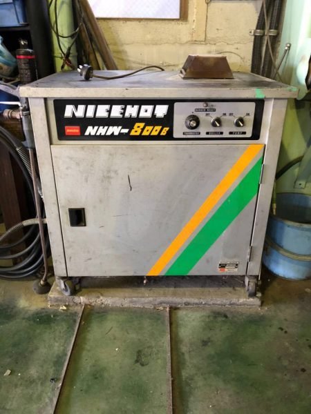 BANZAI バンザイ ナイスホットウォッシャー 高圧洗浄機 NHW-800B