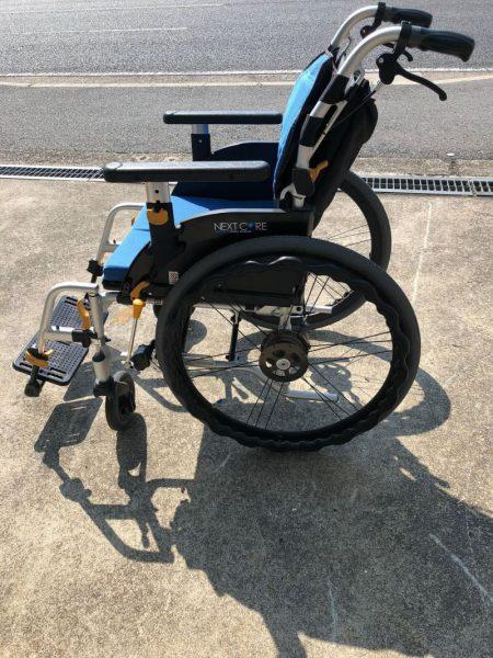 松永製作所 ネクストコア 軽量車椅子 NEXT-51B 自走