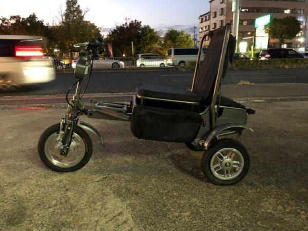 未使用 eFOLDi 電動車椅子 サイクリング EF-M1-2016 折り畳み