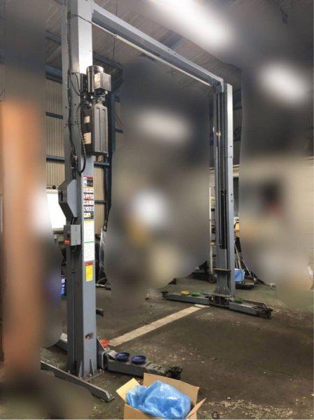 BANZAI バンザイ 門型2柱リフト 4トン GLY-40 ワイド