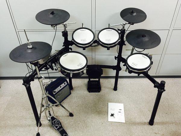 Roland ローランド 電子ドラム TD-9 ハイハットスタンド付き