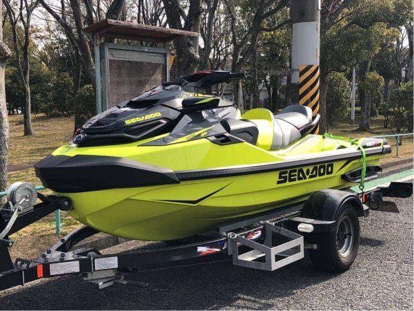 2018年モデル! SEADOO シードゥ RXT-X300RS 14アワー 美艇