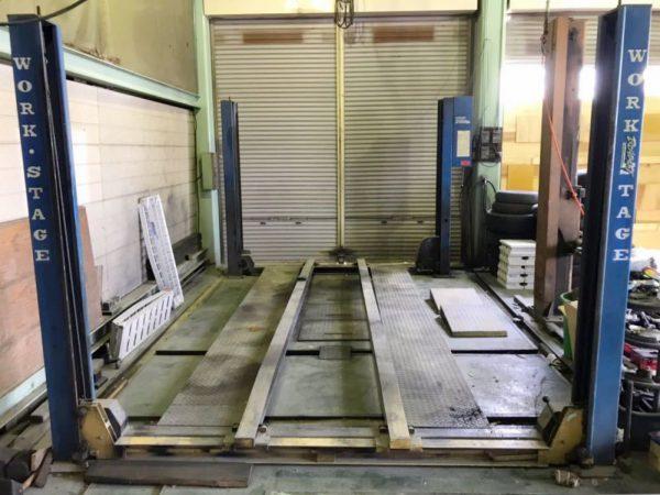 バンザイ 4柱リフト ワークステージ 3トン WSF-3000