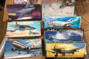 Hasegawa Fujimi 1/72 1/200 1/48 戦闘機 未組立 旅客機
