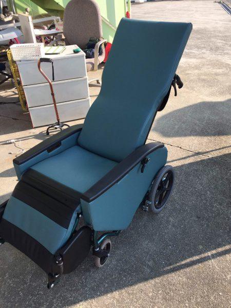 松永 介助フルリクライニング車椅子 FR-31TR B16 エリーゼ