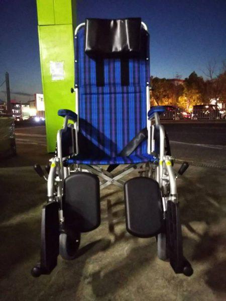 カワムラ KAWAMURA リクライニング車椅子 車いす RR-52DN