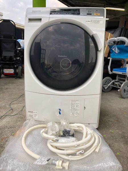 Panasonic ドラム式洗濯乾燥機 エコナビ NA-VD120L 6.0kg 13年製