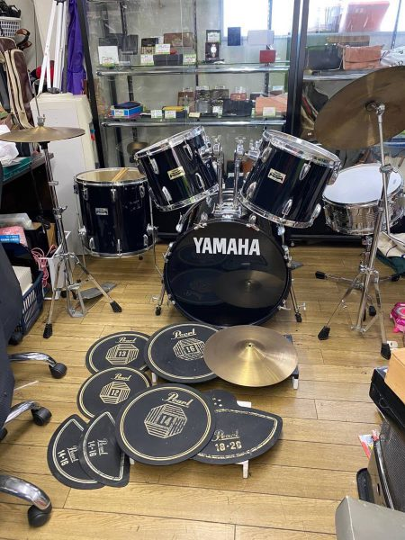YAMAHA Pearl Rock'n Road ドラムセット防音パットセット