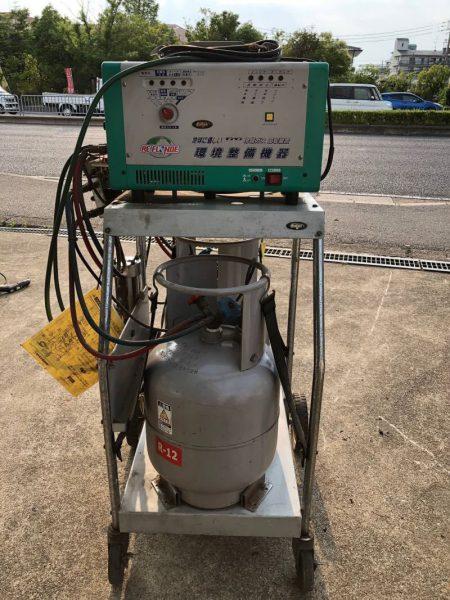 デンゲン リフロンデ 冷媒ガスフロン回収装置 CS-RF80Y R12 134 自動車