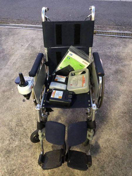 YAMAHA ヤマハ 電動車椅子 電動車いす バッテリー2個セット