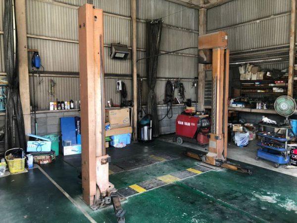BANZAI バンザイ 2.5t 2柱リフト TPY 25C 自動車整備工具 600x450 600x450