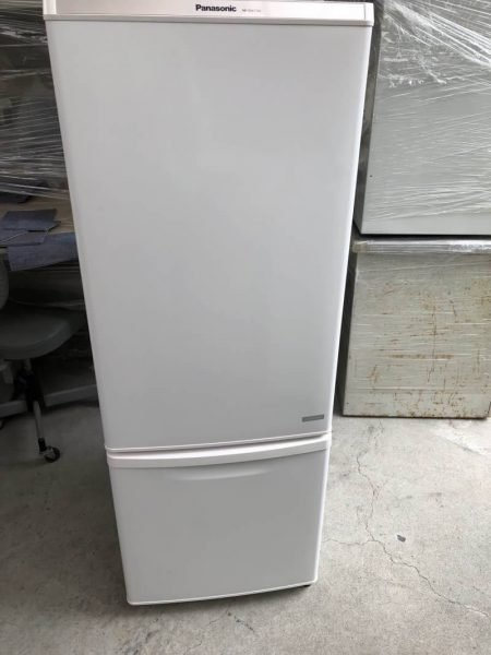 G4968 Panasonic ノンフロン冷凍冷蔵庫 168L NR BW178C W 2016年製 450x600