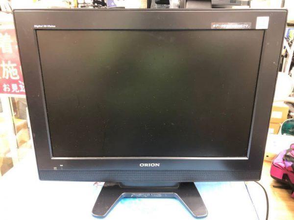 G5883 オリオン ORION 19型 液晶デジタルテレビ LD19V TD1R 09年製 600x450