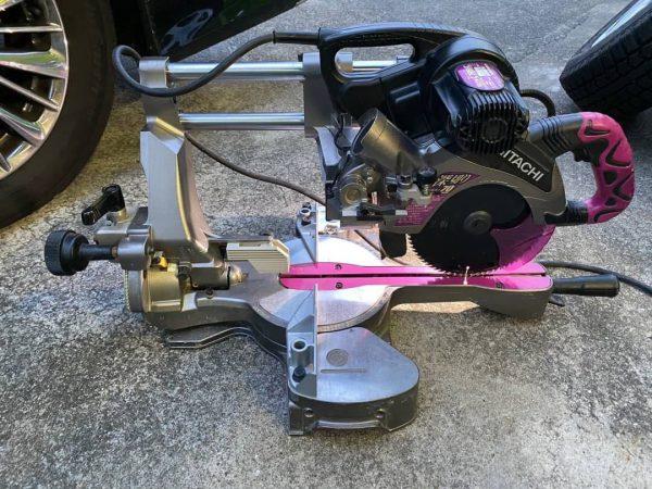 HITACHI 日立工機 卓上スライド丸のこ 190mm C7RSHC