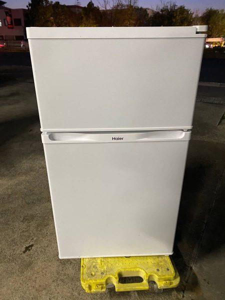 Haier ハイアール 2ドア 冷凍冷蔵庫 91L JR N91K 2016年製 450x600