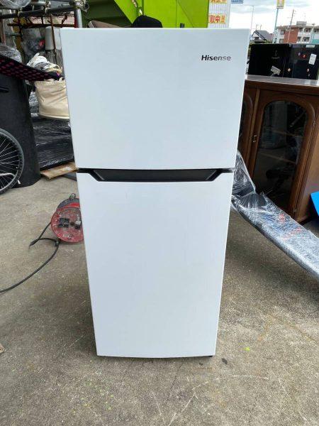 Hisense ハイセンス 2ドア 冷凍冷蔵庫 120L HR B12A 2016年製 450x600
