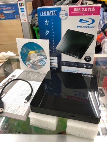 IODATA ポータブルブルーレイディスクドライブ BRP UA6CK 450x600