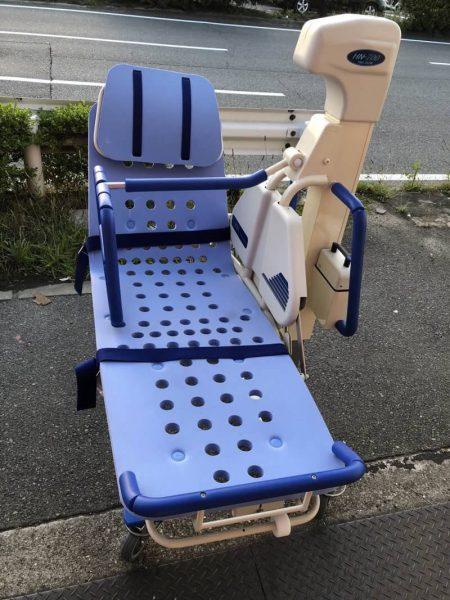IURA 入浴電動昇降ストレッチャー 全身用バスタブ HN-700 HB-200