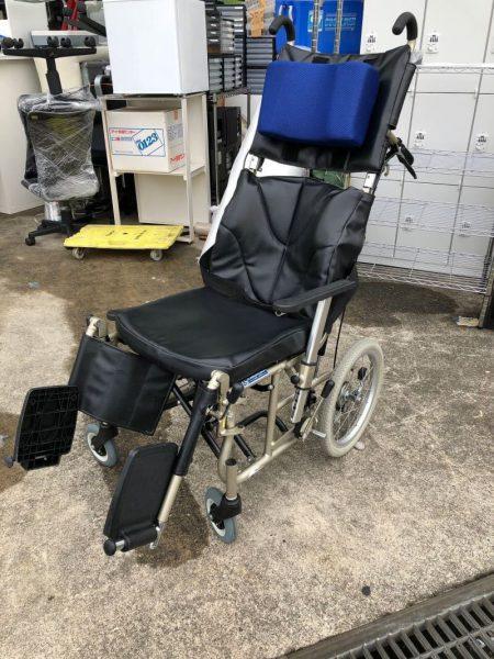 KAWAMURA カワムラサイクル リクライニング車椅子 KPF16-40A
