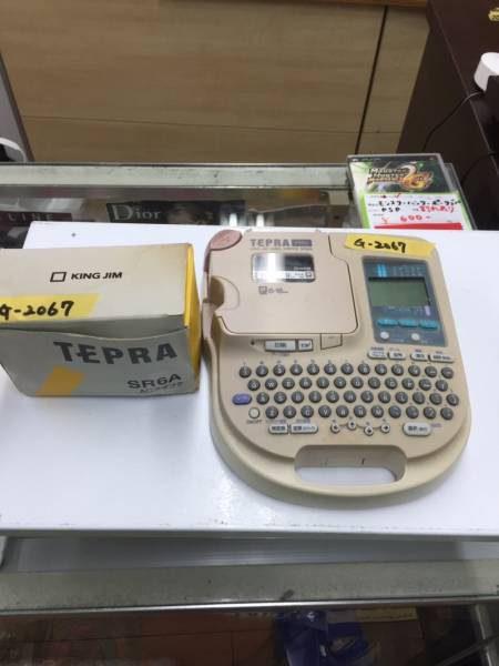 KING JIM TEPRA ラベル ライター SR323 450x600