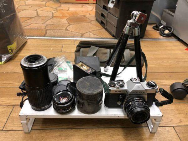 PENTAX フィルムカメラ KM 望遠 脚立セット 600x450