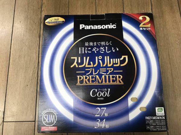 Panasonic スリムパルック プレミア 27形2本セットの34形なし FHC27 600x450
