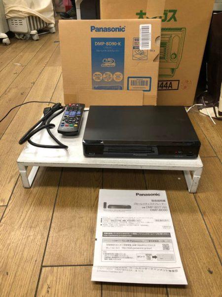 Panasonic パナソニック ブルーレイディスクプレーヤー DMP BD90 K 2018年製 1 450x600