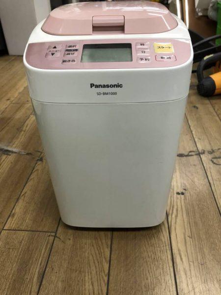 Panasonic パナソニック 一斤タイプ ホームベーカリー SD BM1000 14年製 450x600