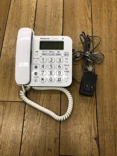 Panasonic パナソニック 電話機 VE GD24DL W 450x600